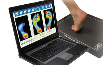Computerized Infrared Gait Scan